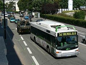 Semitan - Typical Nantes bus