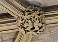 Lincoln Cathedral, Angel Choir N aisle, 15th boss from East (39580695732).jpg