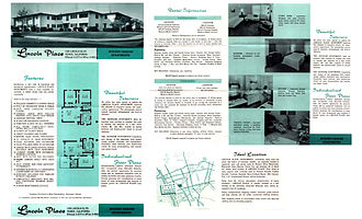 Lincoln Place Apartment Homes - Lincoln Place Brochure from 1959