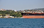 Linda Leah cargo on the Bosphorus in Istanbul, Turkey 002.jpg