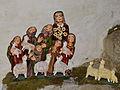 Linz - Pöstlingbergkirche - Weihnachtskrippe aus Ton von Robert Himmelbauer - VI.jpg