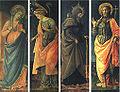 Lippi, Vergine Annunziata, Angelo Annunziante, sant'Antonio Abate e san Giovanni Battista.jpg