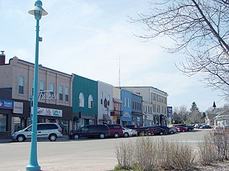 Northeastern Manitoulin and the Islands - Water Street in Little Current