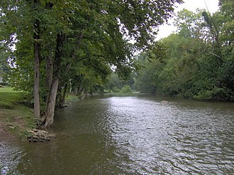 Pigeon Forge, Tennessee - The West Fork of the Little Pigeon River.