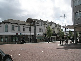 Waterlooville Human settlement in England