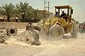 Loader in Zafaraniya neighborhood, Eastern Baghdad.JPG