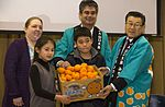 Local farmers present mikans to M.C. Perry 160201-M-RP664-120.jpg