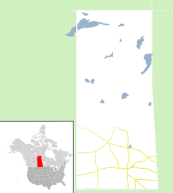 Regina is located in Saskatchewan