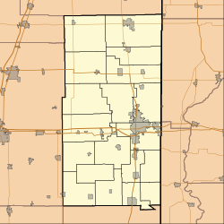 Danville, Illinois is located in Vermilion County, Illinois