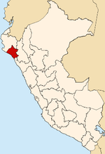 Location of Lambayeque region.png