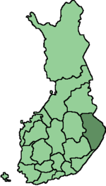 Location of Pohjois-Karjala in Finland.png