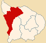 Location of the province Andahuaylas in Apurímac.png