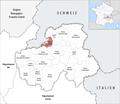 Locator map of Kanton Gaillard 2019.png