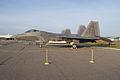 Lockheed-Martin F-22A-30-LM Raptor 05 107 LSide Dawn SNF 04April2014 (14399949217).jpg