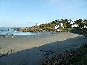 Locquirec - The beach at Locquirec