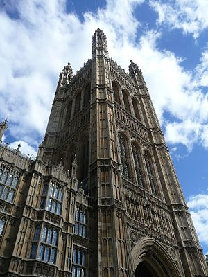 Parliamentary Archives - The parliamentary archives are stored in the Victoria Tower, the largest tower of the Palace of Westminster.