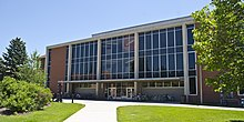 Looking SE at Renne Library - Montana State University - 2013-07-09.jpg