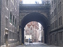 Looking along the Cowgate from Candlemaker Row - geograph.org.uk - 973420.jpg