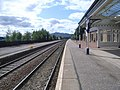Looking along the platform at Kingussie railway station - geograph.org.uk - 1480795.jpg