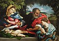 Lorenzo Lotto - The Holy Family with Saint Catherine.jpg