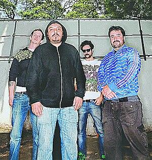Molotov (band) - Image: Los cuatro Molotov