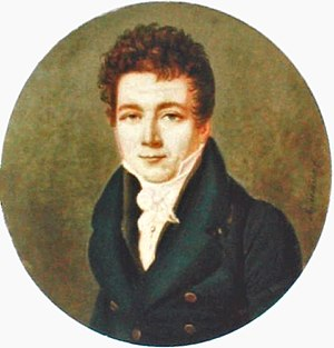 Louis Vicat - Portrait of Louis Vicat young.