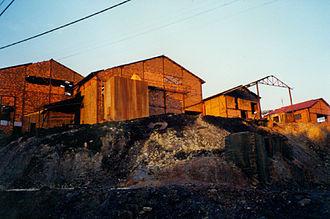 Lousal mine - Image: Lousal Mine