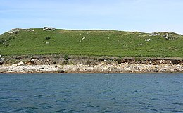 Low cliffs on St Helen's, Isles of Scilly - geograph.org.uk - 1618460.jpg