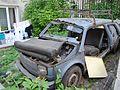"""Lublin - zdelezowany """"Maluch"""" Fiat 126p (02) - DSC00406.jpg"""