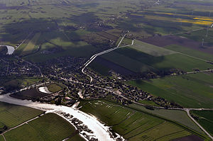Wischhafen - Image: Luftaufnahmen Nordseekueste 2012 05 by Ra Boe 455