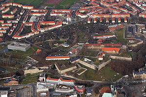 Capitulation of Erfurt - Erfurt's Petersberg fortress