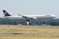 D-AIHT - A340 - Lufthansa