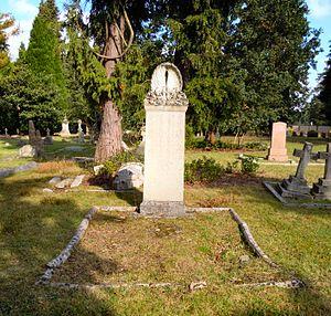 Luke Fildes - The grave of Luke Fildes in Brookwood Cemetery