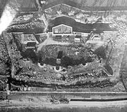 Lumps fort from the air 1945