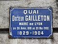 Lyon 2e - Quai Docteur Gailleton - Plaque (janv 2019).jpg