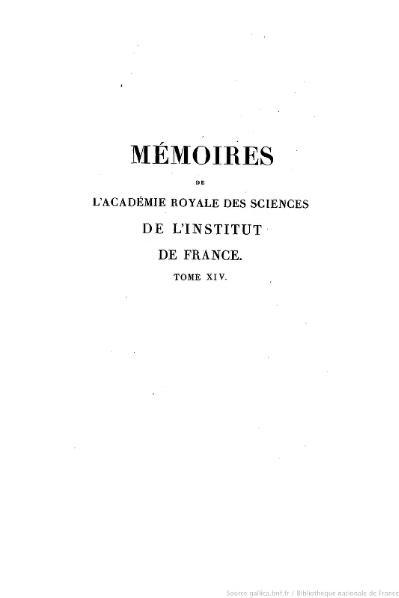 File:Mémoires de l'Académie des sciences, Tome 14.djvu