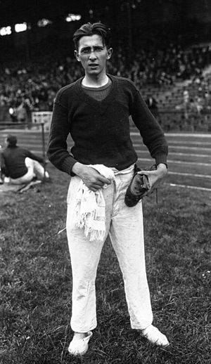 Claude Ménard (athlete) - Claude Ménard in 1926