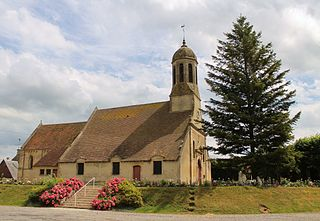 Méry-Bissières-en-Auge Commune in Normandy, France