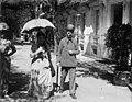 M. Russel, Caroline, Luchon, allée d'Etigny, 15 sept. 1899.jpg