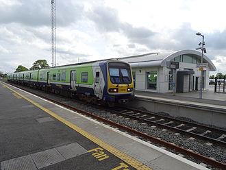 M3 Parkway railway station - Image: M3 Parkway railway station 2014 05 15