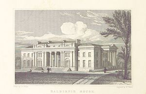 James Balfour (died 1845) - Balbirnie House in Fife, Balfour's birthplace