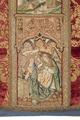 MCC-21689 Rode dalmatiek met annunciatie, visitatie en aanbidding der herders, Cyriacus, Petrus e.a. (5).tif
