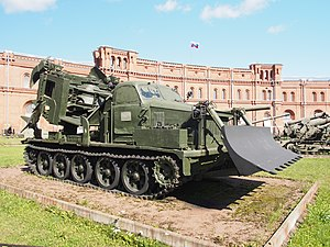 MDK-2, Котлованная машина МДК-2, Artillery museum, Saint-Petersburg pic3.JPG