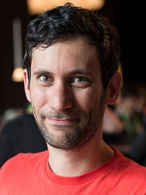 Jon Burgerman - Burgerman at the Beyond Tellerrand conference, 2014
