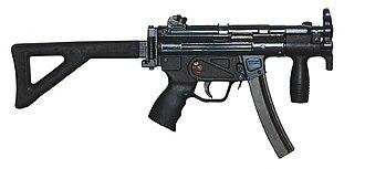 Border Security Force - Heckler & Koch MP5K