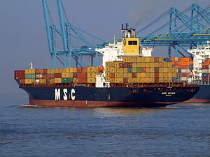 MSC Korea leaving Antwerp.JPG