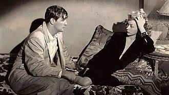 Macao (film) - Image: Macao (film) 1952. Josef von Sternberg, Nicholas Ray, directors L to R Robert Mitchum, Gloria Grahame