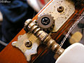 Machine head (tuning peg) on an old Spanish guitar.jpg