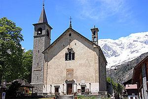 Macugnaga - The parish Church