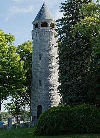 Madison Barracks - Image: Madison Barracks Stone Tower
